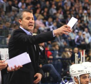 Coach Aubin, - © by Eishockey-Magazin (RH)