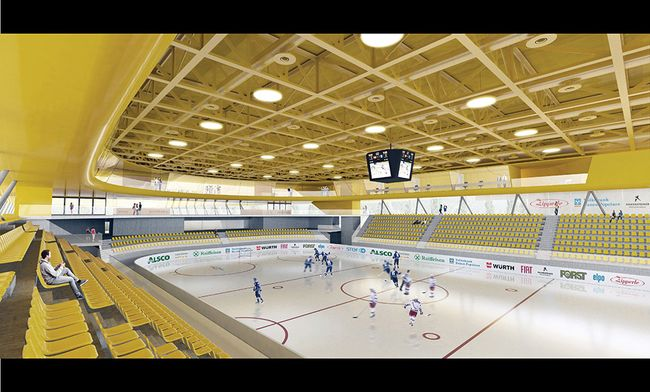 Modell neue Arena Pustertal