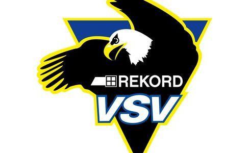 US Defender Shields und Jungadler Thomas Winkler beim VSV!