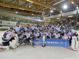 Augsburger Panther Dolomiten Cup Champion 2014