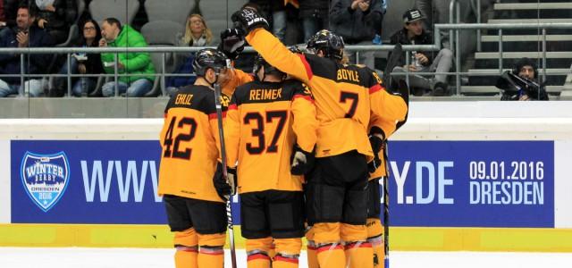 Nationalmannschaft: Gegen Schweden in Rosenheim und Landshut