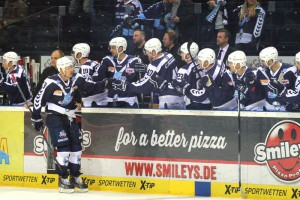 Torjubel Hamburg Freezers - © by Eishockey-Magazin (RH)