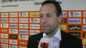 Bundestrainer und U20 Assistenztrainer Marco Sturm - © by EH-Mag. TV (DR)