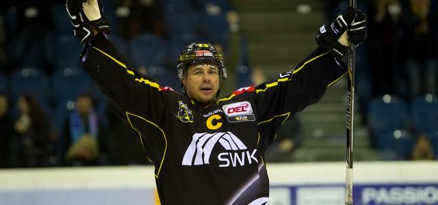 Der Eishockeygott trug gestern Gelb-schwarz