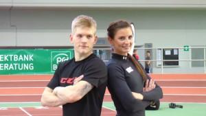 Inna Weit (rechts) und Alexander Preibisch - © by EH-Mag. TV