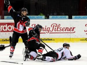 Füchse Duisburg setzten sich gegen den Herner EV durch - © by Eishockey-Magazin (DR)