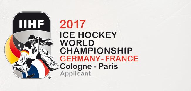 """""""Schull- un Veedelszöch"""" beim Kölner Karneval im Zeichen der 2017 IIHF Eishockey-WM"""