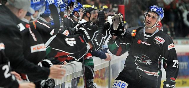 Raus mit Applaus: AEV Panther feiern Derbysieg, verpassen aber die Playoffs