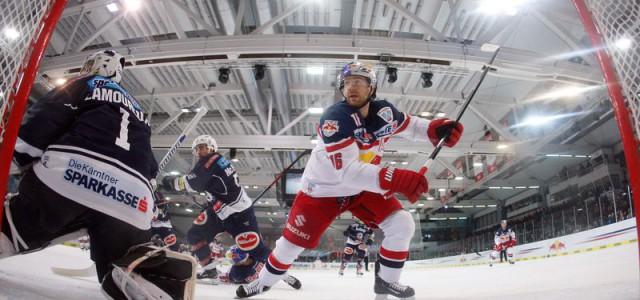 Blick in die EBEL: Salzburg und Linz gewinnen ihre ersten Semifinalspiele