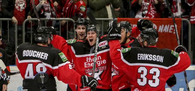 Haie vs. Eisbären im Viertelfinale! Spiel 1 steigt am Dienstag in Berlin!