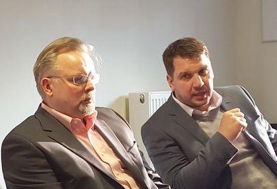 Manager Karsten Mende (re.) und Trainer Jari Pasanen - © by EH-Mag.