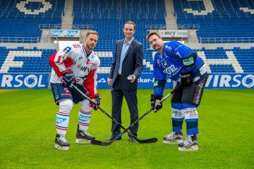 Marcus Kink #17 / Adler , Daniel Hopp, Sascha Goc © AS Sportfoto / Soerli Binder