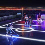 Gipfelstürmer – Red Bulls spielen Eishockey auf der Zugspitze