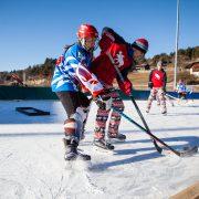 Mit den Huskies ist der erste inoffizielle Europameister im Pond Hockey am Ritten gekürt