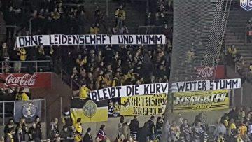 Fanboykott Krefeld Pinguine