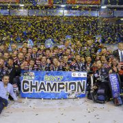 Blick ins AHL-Endspiel: Die Rittner Buam sind die ersten AHL-Champions