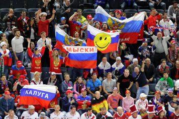 Russlands Fans müssen den 3. Platz bejubeln - © by EH-Mag. (DR)