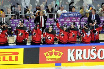 Team Kanada bejubelt den Einzug ins Finale - © by EH-Mag. (DR)