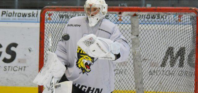Junger Goalie geht in seine vierte Spielzeit bei den Tigers