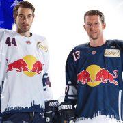 Red Bulls präsentieren die neuen DEL-Trikots / Drei Hockey-Halleluja-Spiele