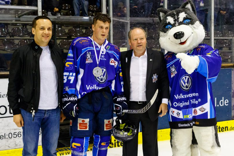 Man of the Match Lukas Koziol - © by Eh.-Mag. (SD)