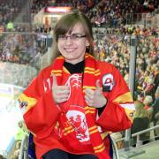 Eishockeyfan mit Hindernissen – Eishockey aus einem anderen Blickwinkel