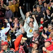 """""""Die Drittelpause"""": Deutschland Cup und Curt-Frenzel Eisstadion, das passt!"""