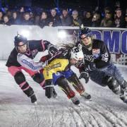Ice-Cross-Downhill-Weltmeisterschaft: Saison 2017/18 mit neun Rennen