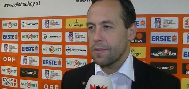 Bundestrainer Marco Sturm erwartet starken Gegner / Fokus auf den Specialteams