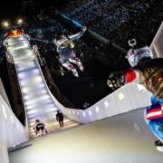 Schnellste Ice Cross Downhill Strecke der Geschichte sorgt für Rekorde in München