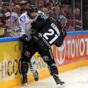 Kölner Haie beim 7:2 gegen Iserlohn Roosters: erst zäh, dann abgebrüht