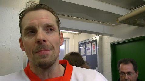 """Björn Bombis: """"Unser Ziel ist es nach hinten raus die Mannschaft in Hannover zu sein, die am längsten Eishockey spielt"""""""