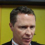 """Mike Stewart erklärt das Augsburger """"Panther-Hockey"""""""