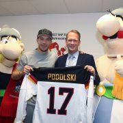 """Poldi: """"Ich werde Spieler der Kölner Haie, wenn …"""""""