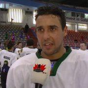 """Wehebe Darge, der """"Eishockey-verrückte"""" Vielspieler"""