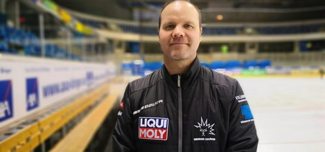 Dresden: Vorstellung des neuen Cheftrainers Bradley Gratton
