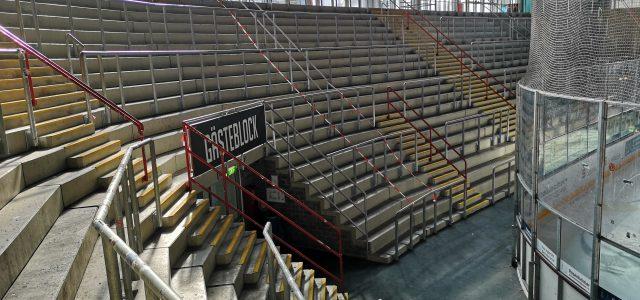 Keine Zuschauer gegen den EC Peiting im ROFA-Stadion