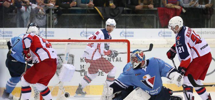 KHL World Games in Wien: Blitzstart bringt CSKA einen sicheren Sieg