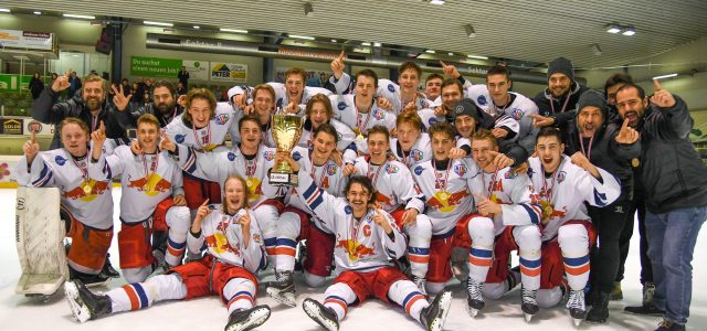 Red Bull Hockey Juniors fixieren Testspielprogramm
