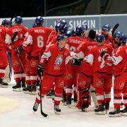 Tschechien gewinnt die Beijer Hockey Games in Schweden