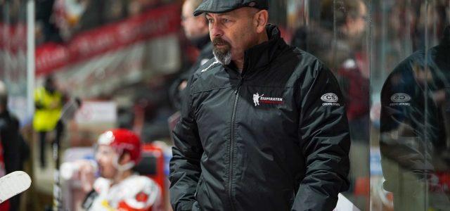 Daniel Naud bleibt Eispiraten-Trainer – Headcoach verlängert Vertrag bis 2020