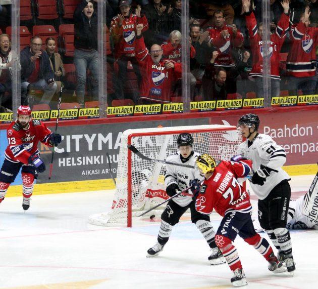 Liiga: HIFK kommt spät aber gewaltig: 2:1 gegen TPS Turku