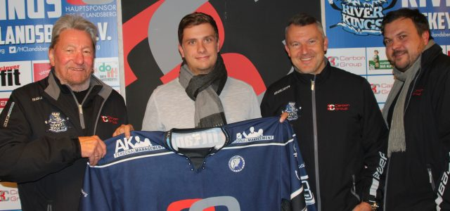 Saisonende für Markus Kring – die Riverkings verpflichten Michael Güßbacher vom ESV Kaufbeuren