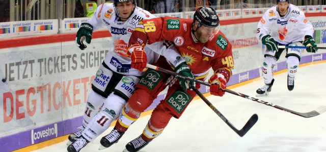 Ein Strafschuss entschied das Spiel der DEG gegen die Augsburger Panther