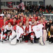 """KEC """"Die Haie"""" e.V.:  1a-Frauenteam des KEC steigt in die 1. Fraueneishockey-Bundesliga auf!"""