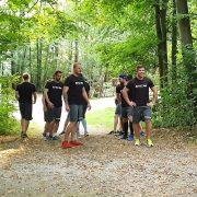 EHC Waldkraiburg im Sommertraining: Hochmotiviert und voll auf Kurs