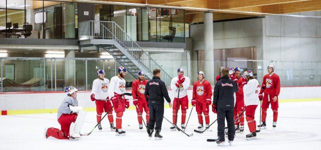 Start ins Teamtraining – Red Bulls sind voller Tatendrang