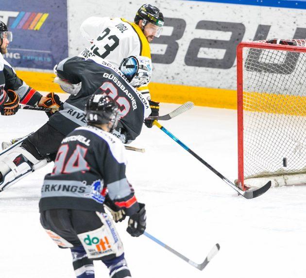 Im Oberligavergleich geht der EVF sowohl gegen Landsberg als auch gegen Peiting leer aus