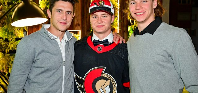 """Nach dem Draft – Tim Stützle: """"Glaube, dass es unheimlich gut klappen könnte in Ottawa"""" – Lukas Reichel: """"Man darf natürlich nicht aufhören"""""""