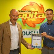 Vienna Capitals mit Superbrands Award ausgezeichnet